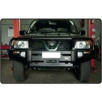 Deluxe Commercial Bull Bar (Coil Spring Only) - Nissan Patrol Y61 GU Series 1-3