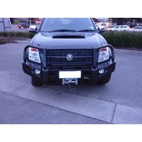 Deluxe Commercial Bull Bar - Holden Rodeo RA7 2007 to 7/2008 and Isuzu D-Max 2007 to 6/2012