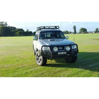 Premium 60.3mm Tube Bull Bar - Nissan Patrol Y61 GU Series 4 2005 onwards
