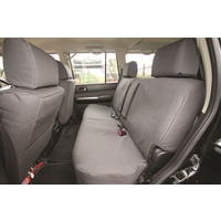 Canvas Comfort Seat Cover - Nissan Navara D40 2005 onwards (Rear)