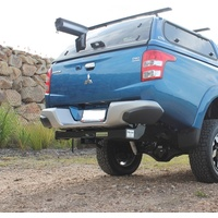 Class 4 Towbar - Compatible with Factory Rear Bumper - Mitsubishi Triton MR/MQ and Fiat Fullback 2016 onwards