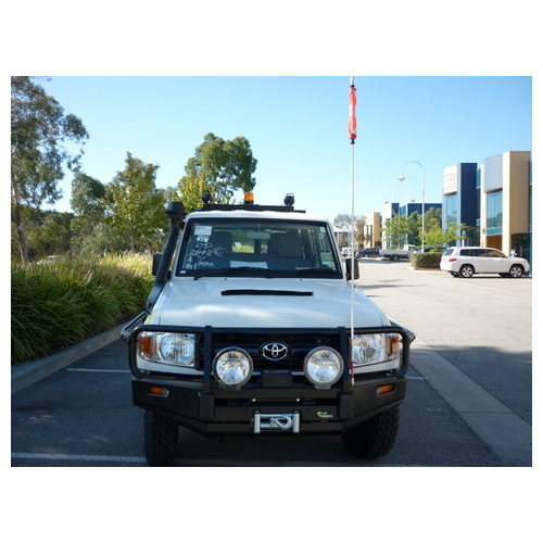 Commercial Bull Bar -to suit Toyota Landcuiser 76 series